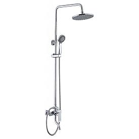 Душевая колонна со смесителем для ванны BelBagno DIS-VSCM-CRM