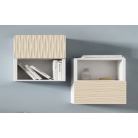Шкаф белый MODERNO (Cezares) BAPN02.601