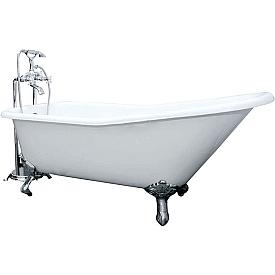 Ванна чугунная ELEGANSA SCHALE IRON FEET chrome Н0000012