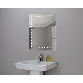 Зеркало Континент Италия Люкс 60х80 с подсветкой ЗЛП07