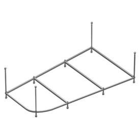 Каркас для ванны Riho Delta 150 R усиленный 2YNVN1027