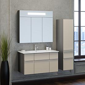 Комплект мебели для ванной комнаты Smile Z0000014472-К