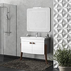 Комплект мебели для ванной комнаты Smile Z0000012230-К