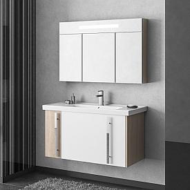 Комплект мебели для ванной комнаты Smile Z0000012276-К