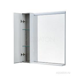 Зеркальный шкаф с подсветкой AQUATON Рене 1A222502NRC80