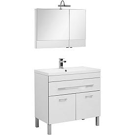 Комплект мебели для ванной комнаты    Aquanet #00230314