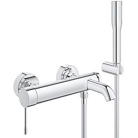 Смеситель Grohe однорычажный для ванны с душевым гарнитуром 33628001