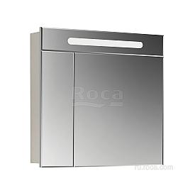 Зеркальный шкаф Roca Victoria Nord 80 ZRU9000033 белый глянец