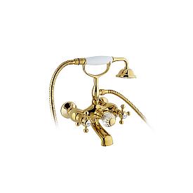 Смеситель для ванны с душем Timo Nelson 1914/07Y-CR золото