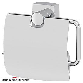 Держатель туалетной бумаги с крышкой (хром) FBS ESP 055