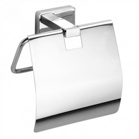 Держатель для туалетной бумаги с крышкой Bemeta 153112012