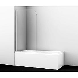 35P01-80 Стеклянная шторка на ванну WasserKRAFT