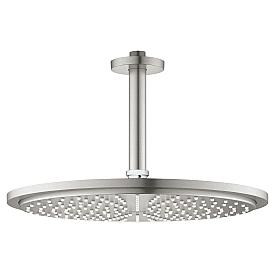 Верхний душ Grohe 310 мм потолочным душевым кронштейном 26067DC0 142 мм