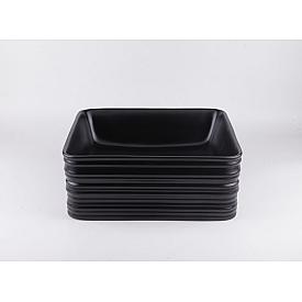 Черная матовая керамическая раковина Gid Bm965 53339