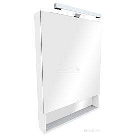Зеркальный шкаф Roca The Gap 60 ZRU9302885 белый глянец