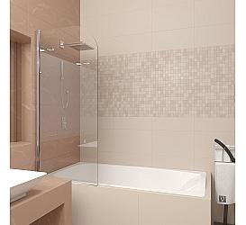 Шторка на ванну Veconi PL80-70-01-19C1-1 Veconi