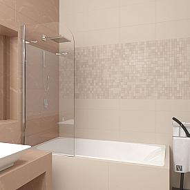 Шторка на ванну Veconi PL80-70-01-19C1-1