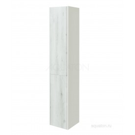 Шкаф - колонна Сакура правая ольха наварра, белый глянец Aquaton 1A219903SKW8R