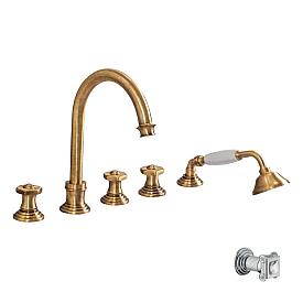 Смеситель для ванны Cezares APHRODITE-BVD-02-Sw