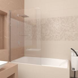 Шторка на ванну Veconi PL83-100-01-19C2