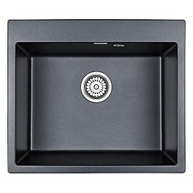Мойка для кухни кварцевая Paulmark Kante PM106052-BLM