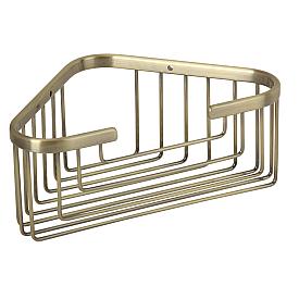 BASKET Решетка угловая 18х18хh9 см., бронза