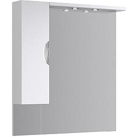 ЭкоЛайн Панель с зеркалом, шкафчиком и подсветкой Eco-L.02.10 AQWELLA
