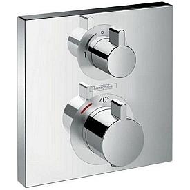 Встраиваемый смеситель для ванной с душем Hansgrohe  Ecostat 15714000