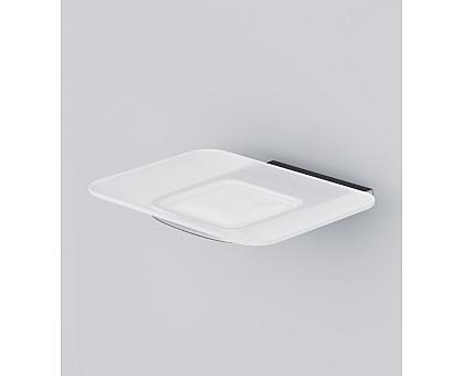 A50A34200 Inspire 2.0 Стеклянная мыльница с настенным держателем хром