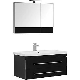 Комплект мебели для ванной комнаты    Aquanet #00230313