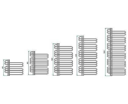 Полотенцесушитель электрический Grota Stelle L 500x600 мм 1191-1334