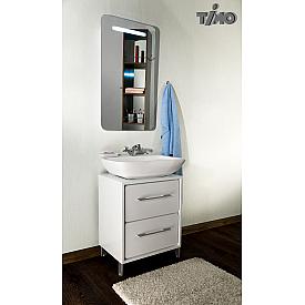 Комплект мебели для ванной комнаты  белый Timo И0000088