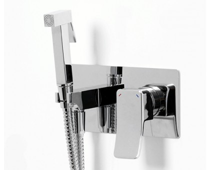 10638 Встраиваемый смеситель для душа с гигиенической лейкой WasserKRAFT