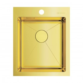 Кухонная мойка Omoikiri Akisame 41-LG 4973080 светлое золото