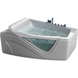 Ванна  угловая с подголовником Gemy G9056 K L