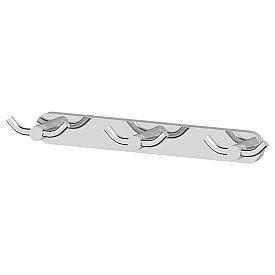 Планка с 3-мя двойными крючками (хром) Artwelle HAR 009 37 см