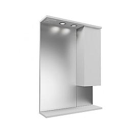 Зеркальный шкаф с подсветкой Next (Mirsant) MRM0040
