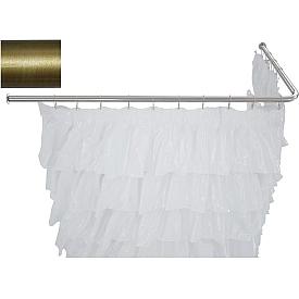 Карниз для ванны угловой Г-образный Aquanet 180x80  241464