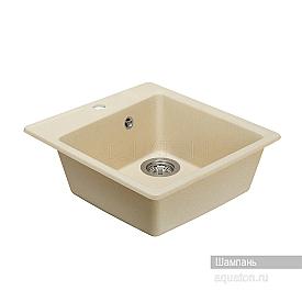 Мойка для кухни Парма квадратная шампань Aquaton 1A713032PM290
