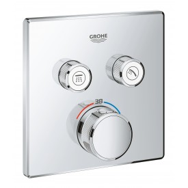 Термостат Grohe  для ванны/душа 2 кнопки управления 29124000