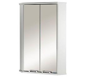 Шкафчик Призма 2М угловой двустворчатый белый Aquaton 1A007003PZ010 AQUATON