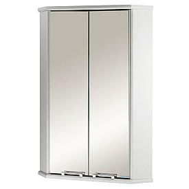Шкафчик Призма 2М угловой двустворчатый белый Aquaton 1A007003PZ010