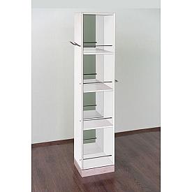 Шкаф-пенал  белый Timo V0000109