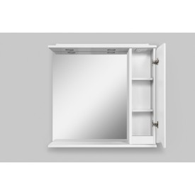 Зеркальный шкаф  современный AM.PM M80MPR0801WG