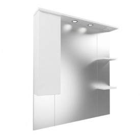 Зеркало-шкаф Mirsant Next 80x100 MRM0043