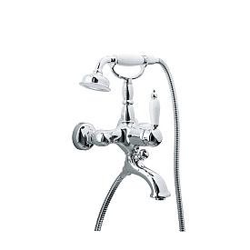Смеситель для ванны(душевой комплект) Boheme TRADIZIONALE CHROMO 263 хром