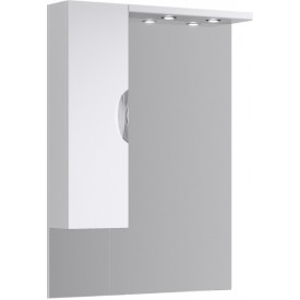 ЭкоЛайн Панель с зеркалом, шкафчиком и подсветкой Eco-L.02.08 AQWELLA