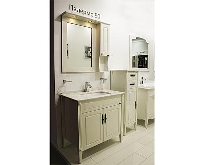 Зеркало-шкаф Comforty Палермо-90 00004137098