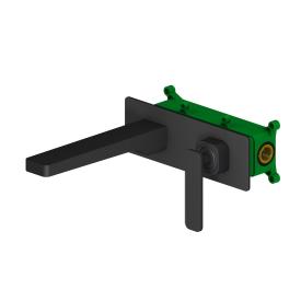 Смеситель для раковины встроенный Timo Torne 4371/03SM черный