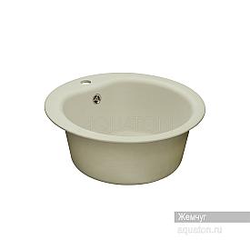 Мойка для кухни Мида круглая жемчуг Aquaton 1A712732MD240